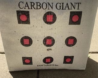 Heavy Duty Carbon Giant Archery Targets (5) Some New