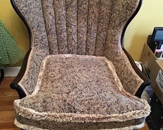 Victorian Wingback Chair