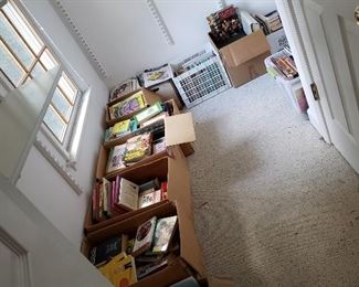 Start of the Book Area