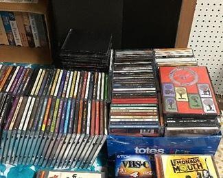 CDs, Set of Nice speakers