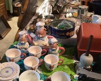 Tea Set, China,