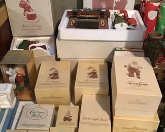 Hallmark Night Before Christmas Collection In Original Boxes