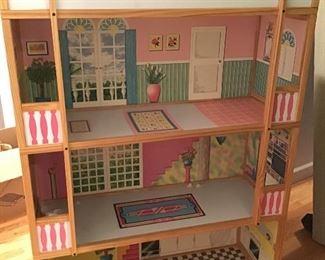 Barbie Doll Sized Doll House