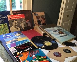 Records Galore! 78's, 33 1/2's, 45's