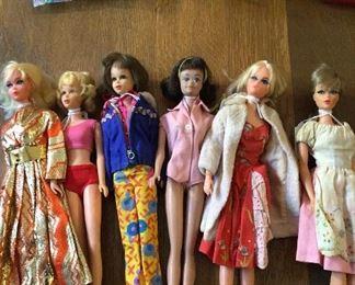 Vintage 1960's Barbies