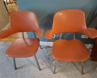 Mid Century Modern Shaw Walker Chairs