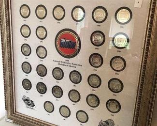 National Wild Turkey Federation Medallion Collection