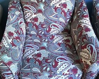 Pair of Paisley Chairs