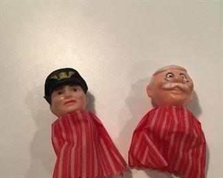 Vintage Finger Puppets