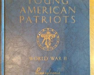 Young American Patriots 1939 WWII Book Front Cover Page