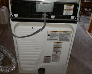 Back Whirlpool Dryer