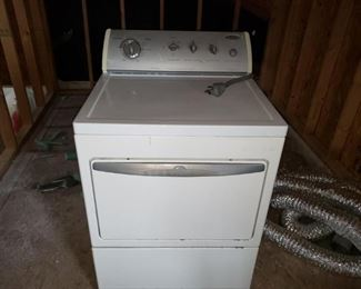 Front Whirlpool Dryer- Electric