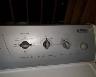 Top Half Whirlpool Dryer