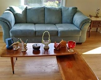 Couch and Lane wood coffee table