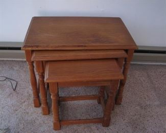 nesting tables $20
