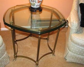 polygon table $45