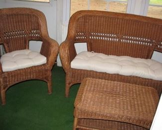4pc wicker grouping $75