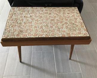 Retro Tile top Table ( 2 pieces)