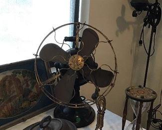 Antique G.E. Fan