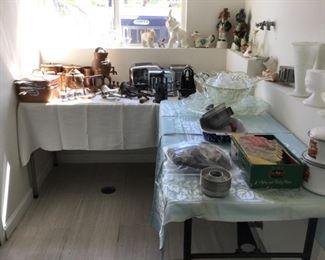 Vintage Kitchen ware   30's, 40's, 50's-Milk glass Items, Copper Items, Vintage Animals & Liquor Decanters