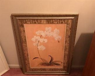 Nice framed art!