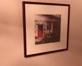 Nicely framed!
