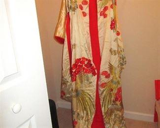 vintage winter kimono