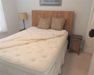 mattress is sold, frame and headboard still available