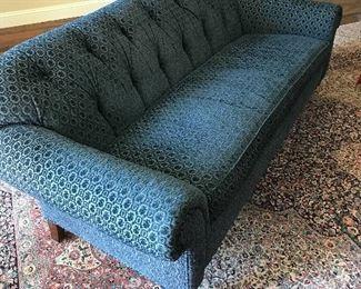 Lee Jofa down filled tufted sofa