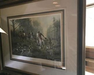 George wright 1 of 3 Colored Engravings