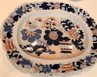 Mason's Ironstone Imari Platter c 1820