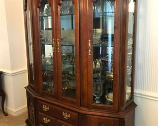 Keller Cherry China Cabinet
