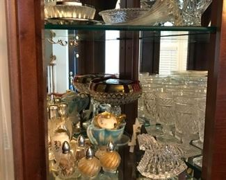 Silver and glassware