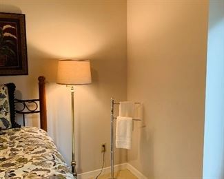 Floor Lamp/ Towel Holder
