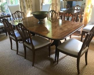 Baker Dining Room Table
