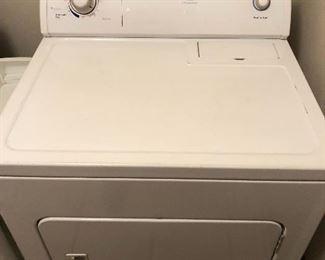Matching Whirlpool large capacity dryer