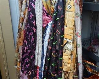 lots of scarves for all holidays