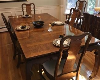 Lovely Asian Inspired Dining Room Set