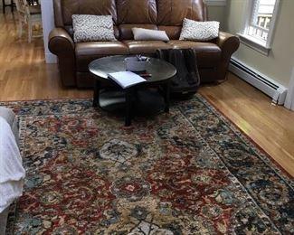 Sofa reclines