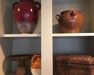 Lots of pottery and collectibles