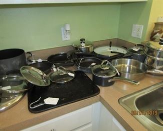 COOKWARE AND SO MUCH OF IT.. GREAT PRICES