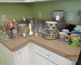 DINNERWARE AND SO MUCH MORE