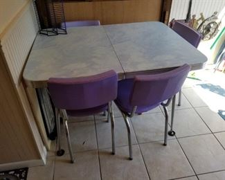 Dining room table: 36D x 30T x 48W