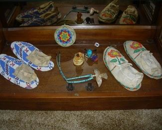 Assortment of Native American items collected in the 1950s