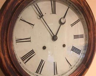 Antique Atkins Company Clock