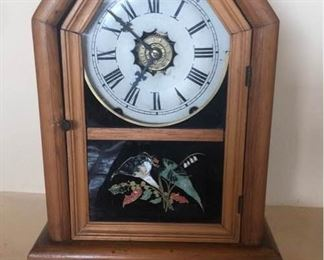 New Haven Antique Wooden Clock