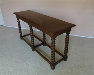 Table is made of Walnut
