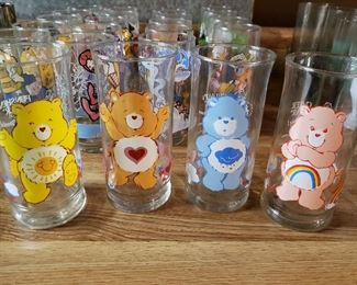 Vintage Care Bear glasses