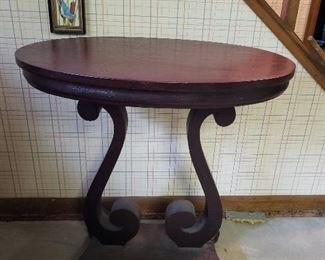 Mahogany Cherry Hall table