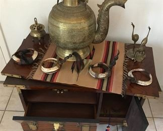 Korean Chest with Swivel top, ideal for a TV